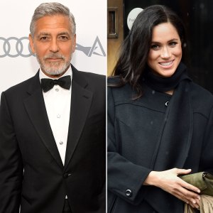 George Clooney Defends Duchess Meghan