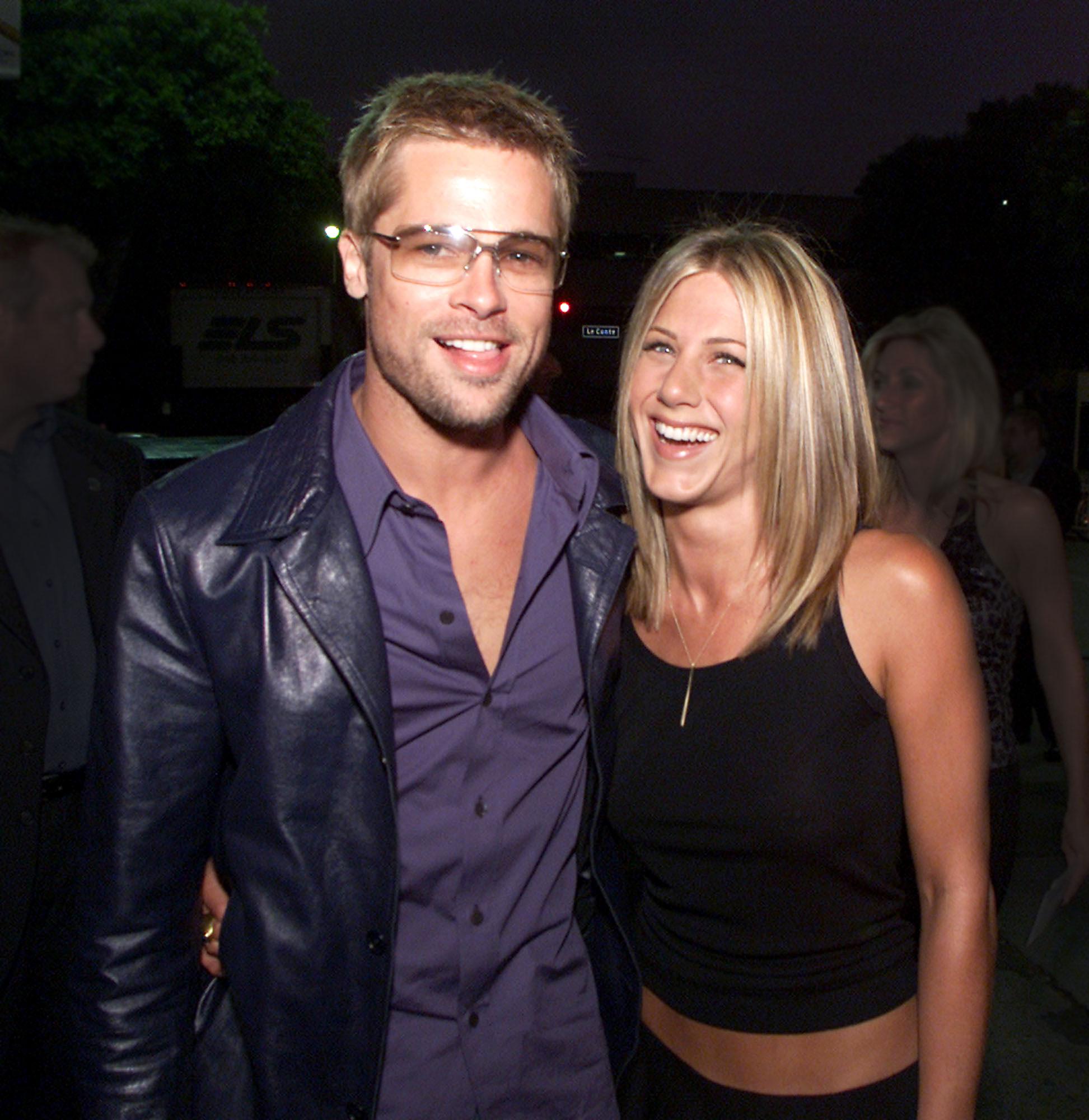 Brad Pitt and Jennifer Aniston Relationship Timeline - Brad Pitt, Jennifer Aniston
