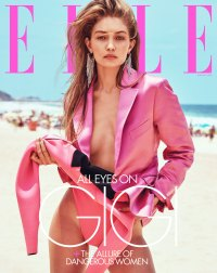 Gigi Hadid Bella Hadid Dont Compete For Jobs Elle Cover