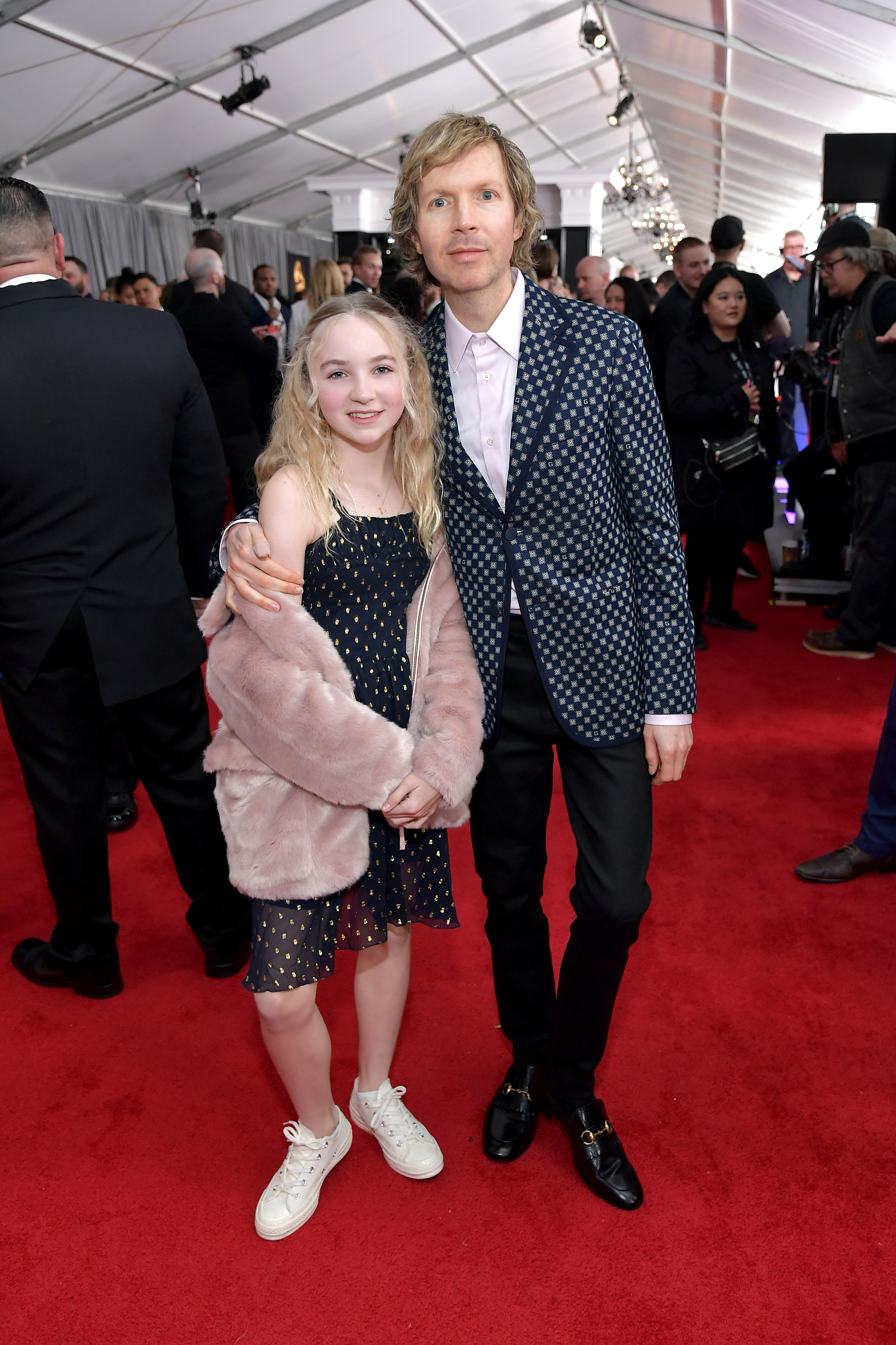 Grammys 2019: Shawn Mendes, Miley Cyrus and More Stars Who Brought Family Members as Dates - The Best Alternative Music Album winner brought his 11-year-old daughter, Tuesday, to the show.
