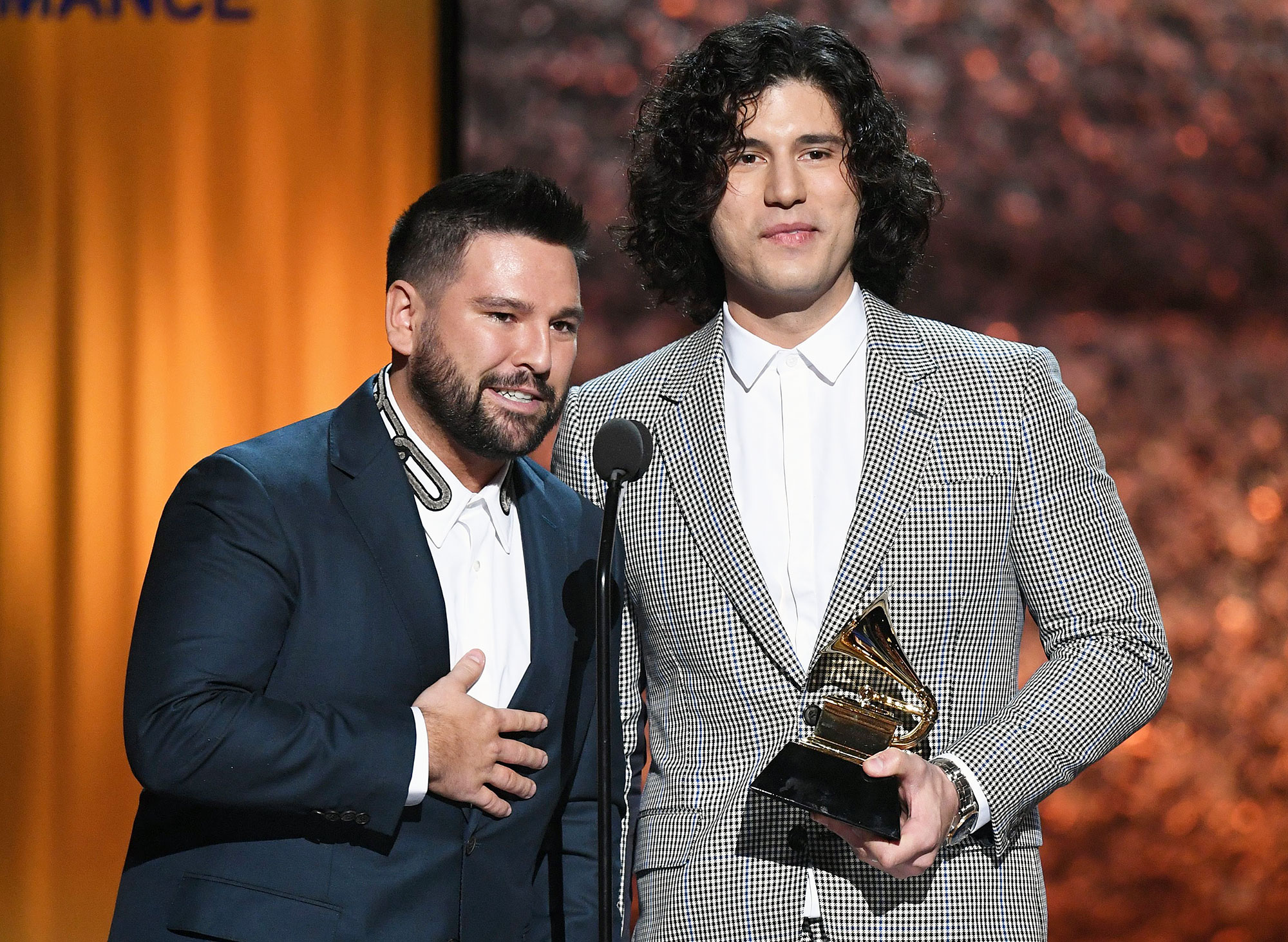 """Dan + Shay Grammys 2019 - """"Shoot Me Straight"""" — Brothers Osborne """"Tequila"""" — Dan + Shay """"When Someone Stops Loving You"""" — Little Big Town """"Dear Hate"""" — Maren Morris featuring Vince Gill """"Meant To Be"""" — Bebe Rexha & Florida Georgia Line"""