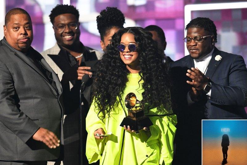 Grammys 2019 H.E.R.