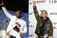 Grammys 2019 Tie Kings Dead Kendrick Lamar Jay Rock Future James Blake Bubblin Anderson .Paak
