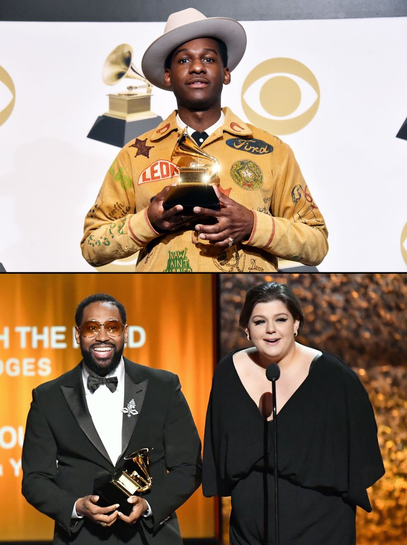 Grammys 2019 Bet Aint Worth The Hand Leon Bridges How Deep Is Your Love PJ Morton Yebba