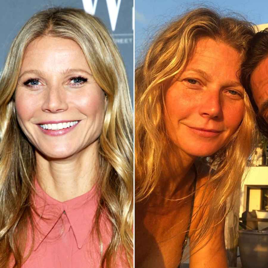 Gwyneth Paltrow and More Stars Show Off Their Bare-Face Beauty
