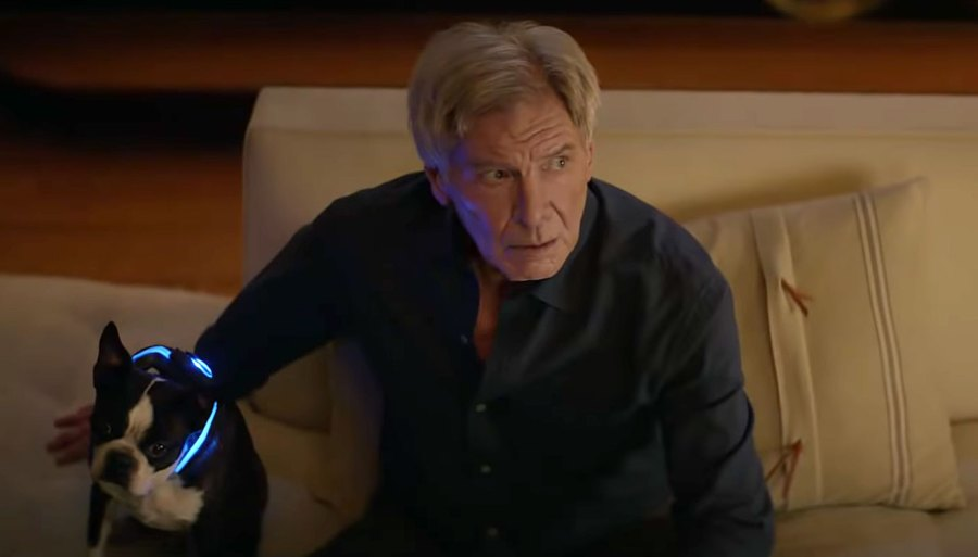 Harrison Ford Stars With A Cute Pup In Amazon Alexa Commercial
