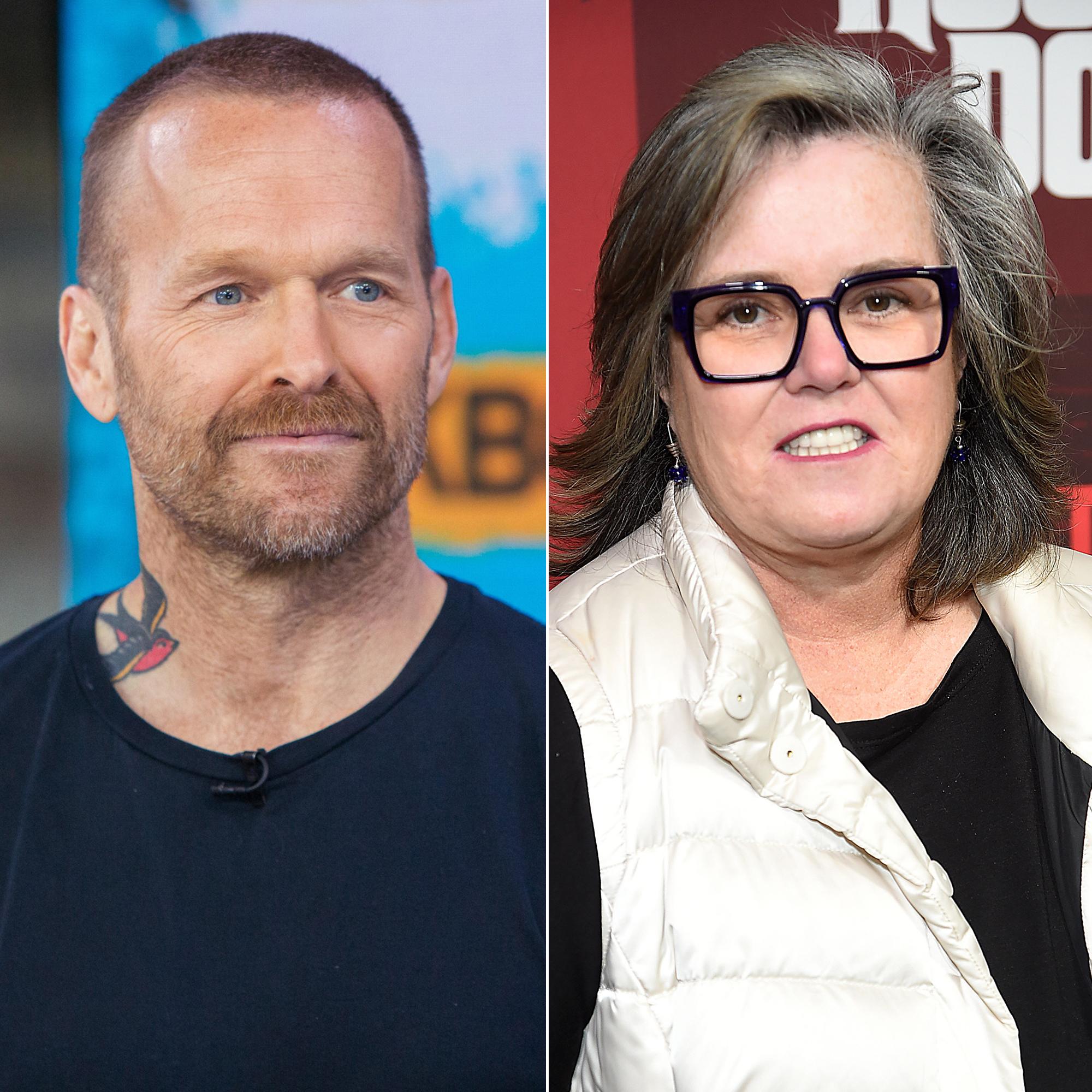 Heart Attack Survivors - Bob Harper and Rosie O'Donnell.