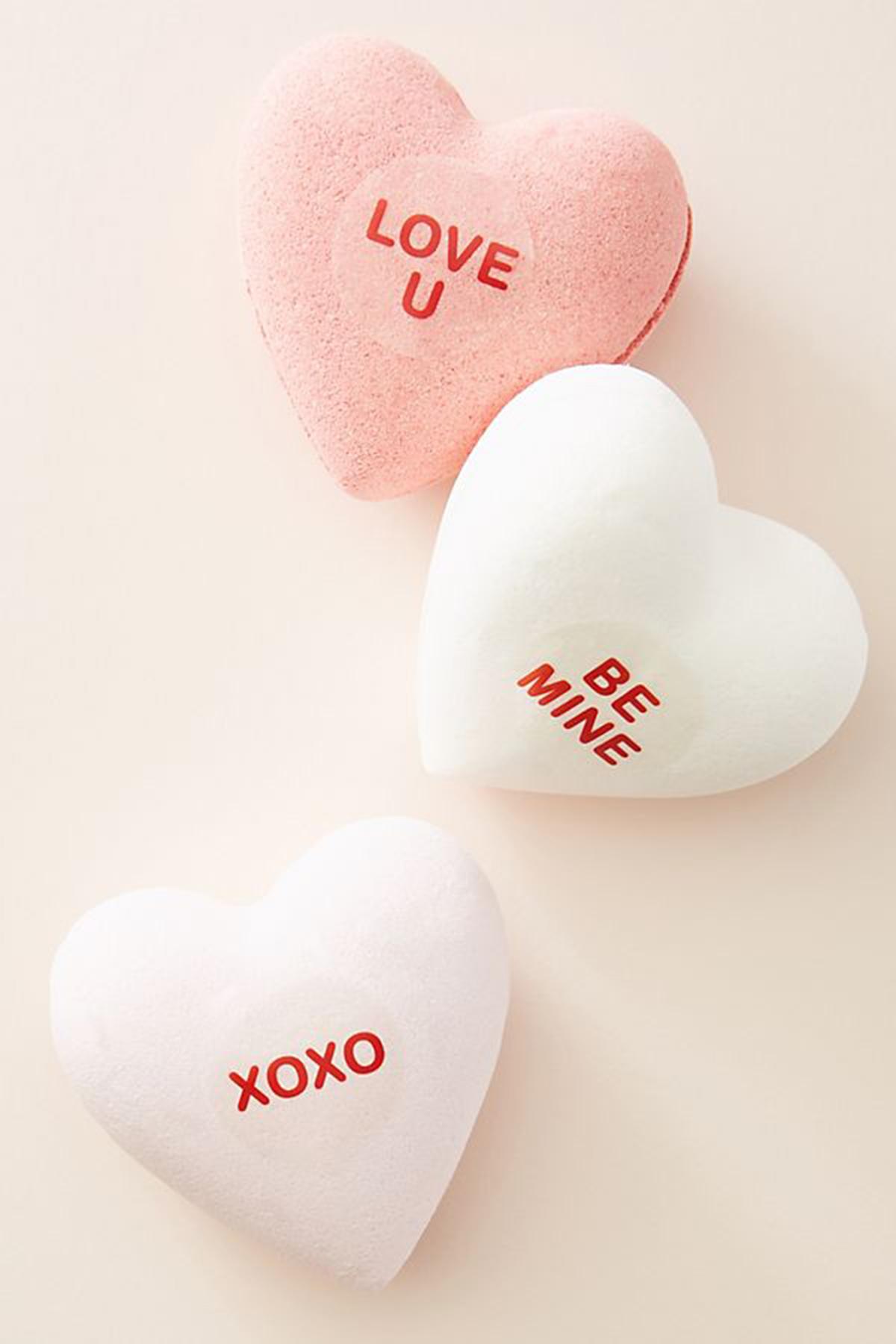 Heart Bath Bombs
