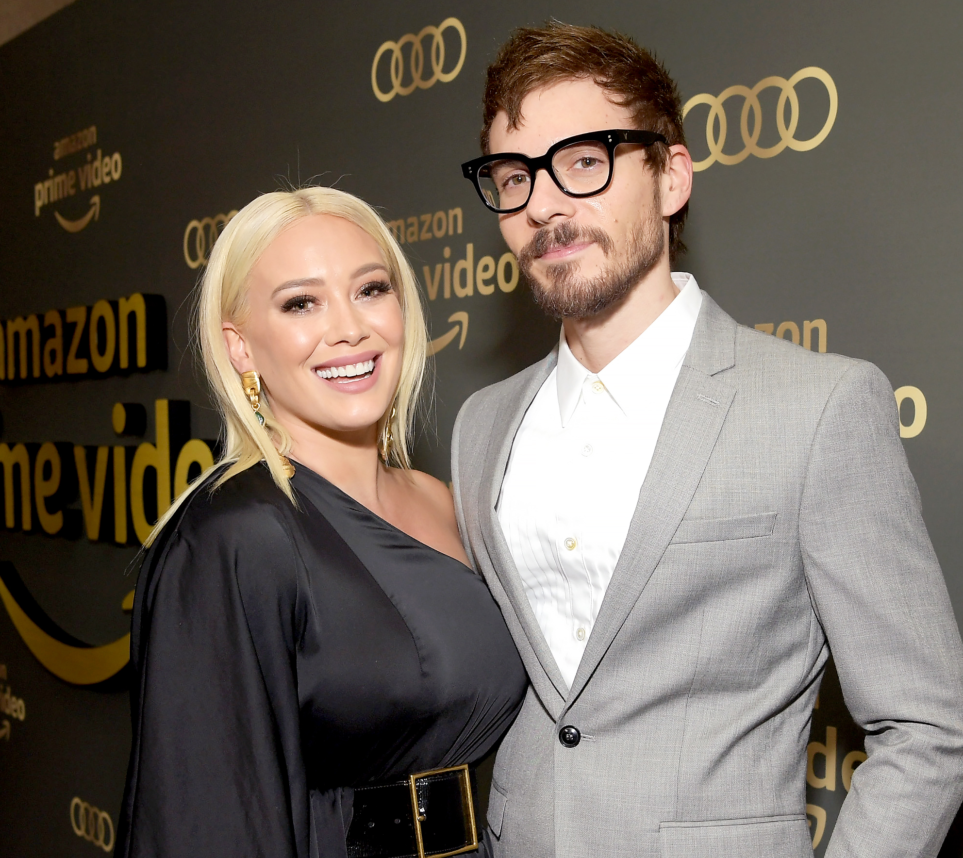 Hilary-Duff-Gets-Alpaca - Cutest Valentine's Day gift ever? Hilary Duff got the surprise of a lifetime while celebrating the holiday a few days early with her boyfriend, Matthew Koma .