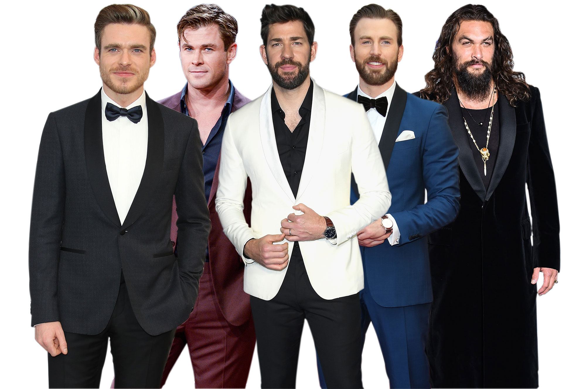 Hollywood's Hottest Hunks Top 5