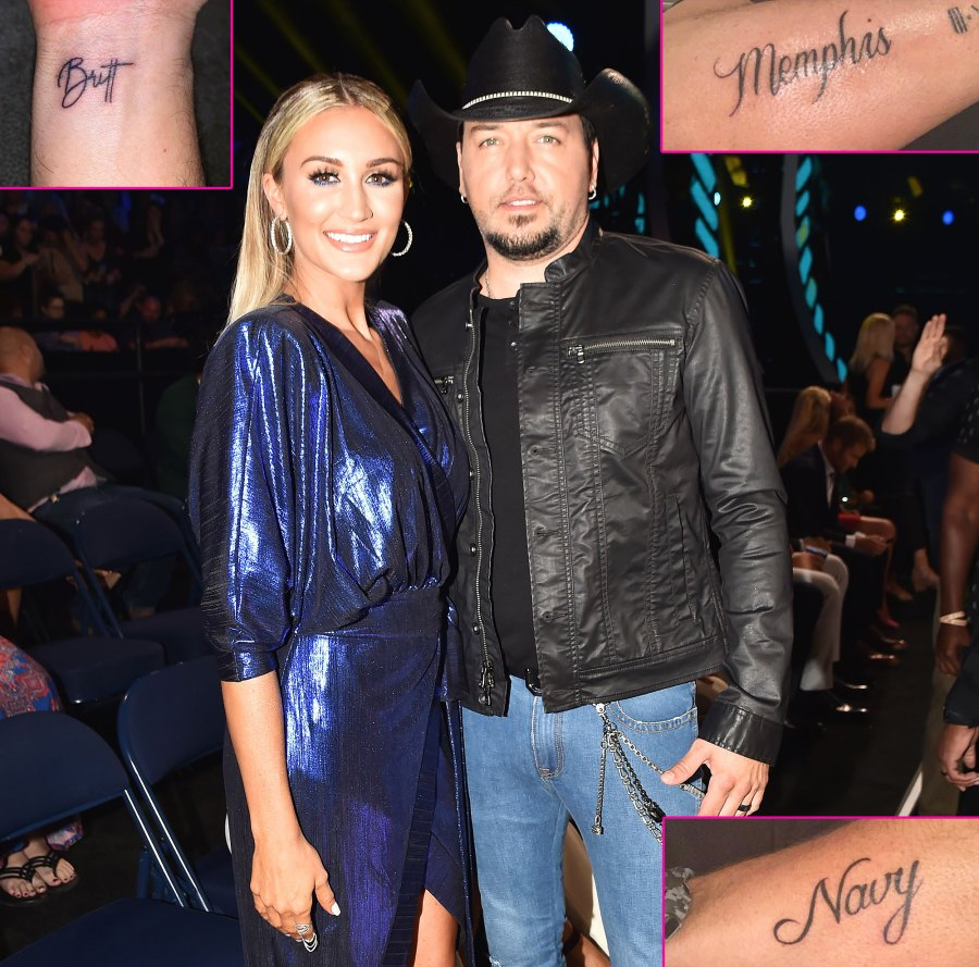 Jason Aldean Tattoo Tributes Son Daughter Wife