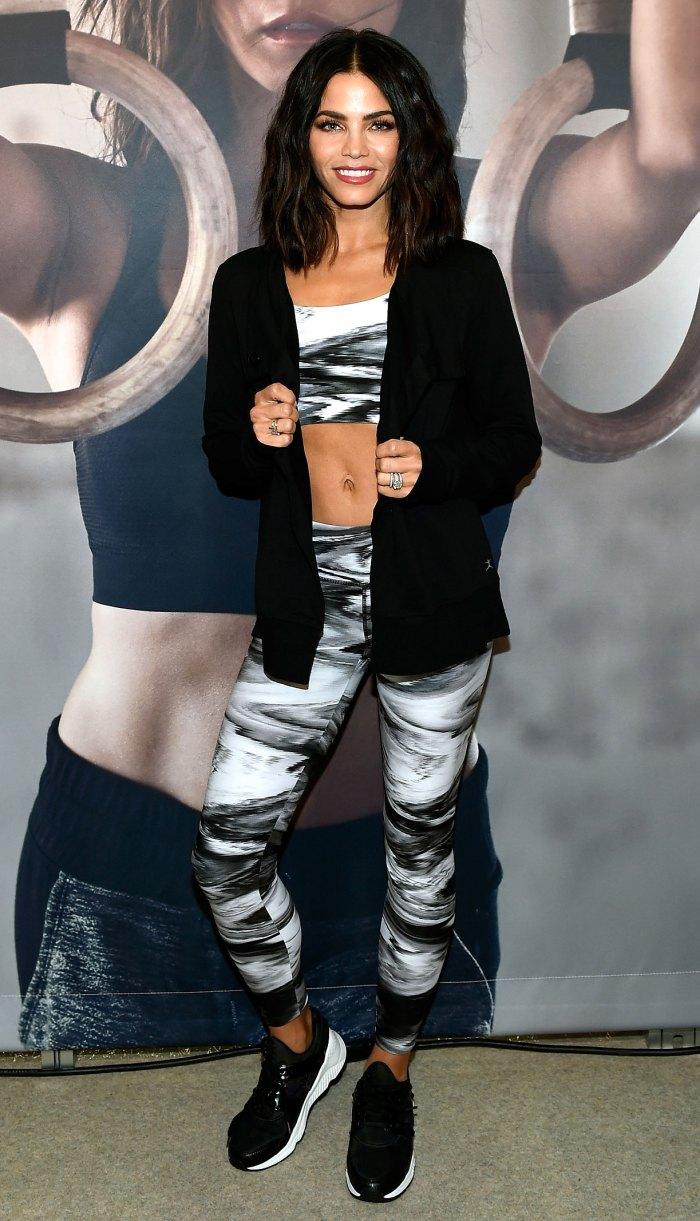 Jenna Dewan Is All of Us in New Backyard Workout Video