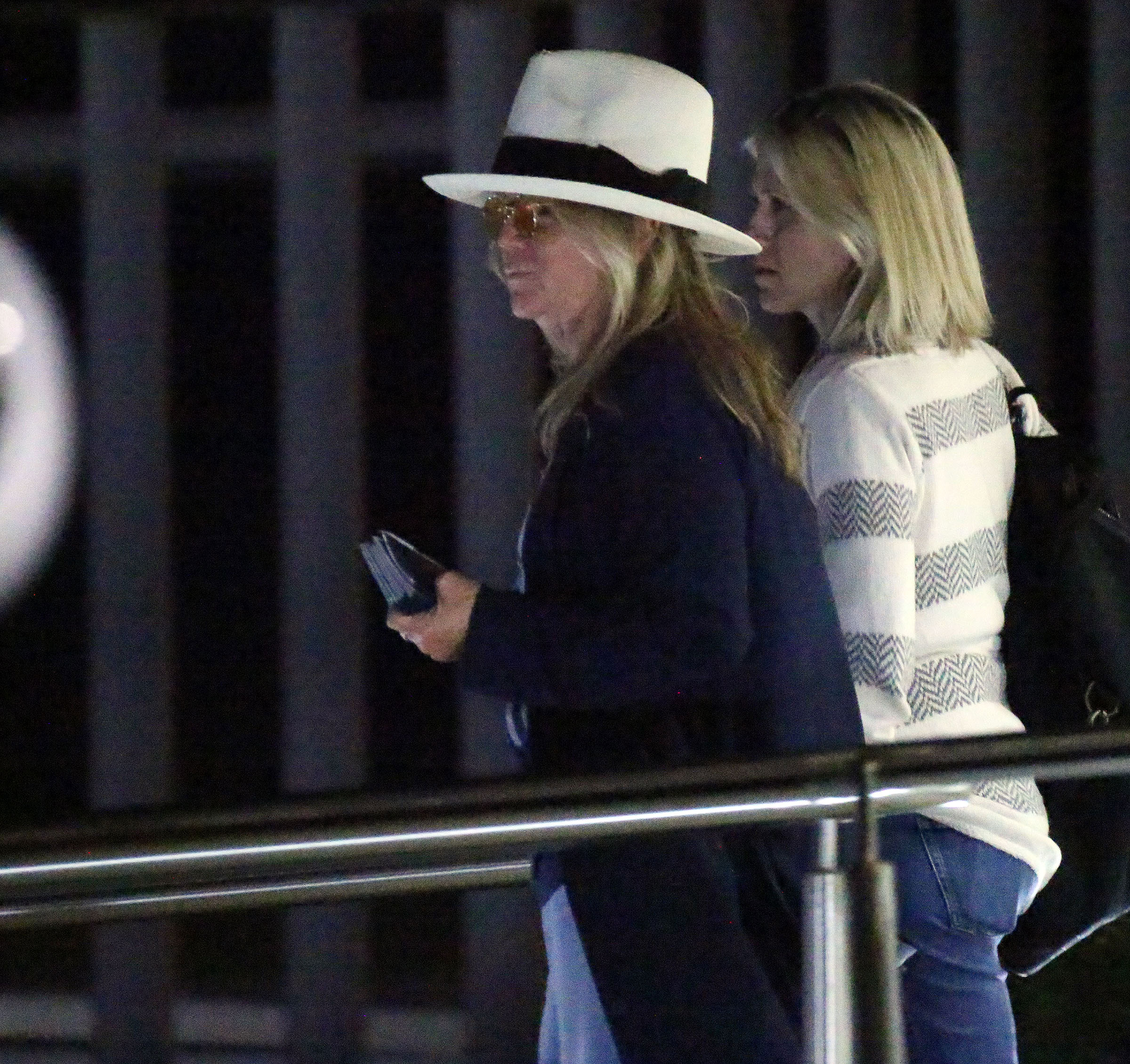 Jennifer Aniston Arrives in Cabo After Emergency Plane Landing - Jennifer Aniston arriving safely for their birthday party in Los Cabos, Mexico.