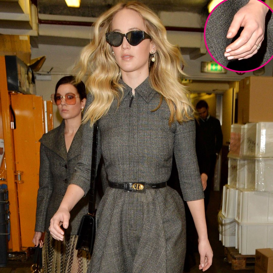 Jennifer Lawrence Attends First Public Event Since Engagement