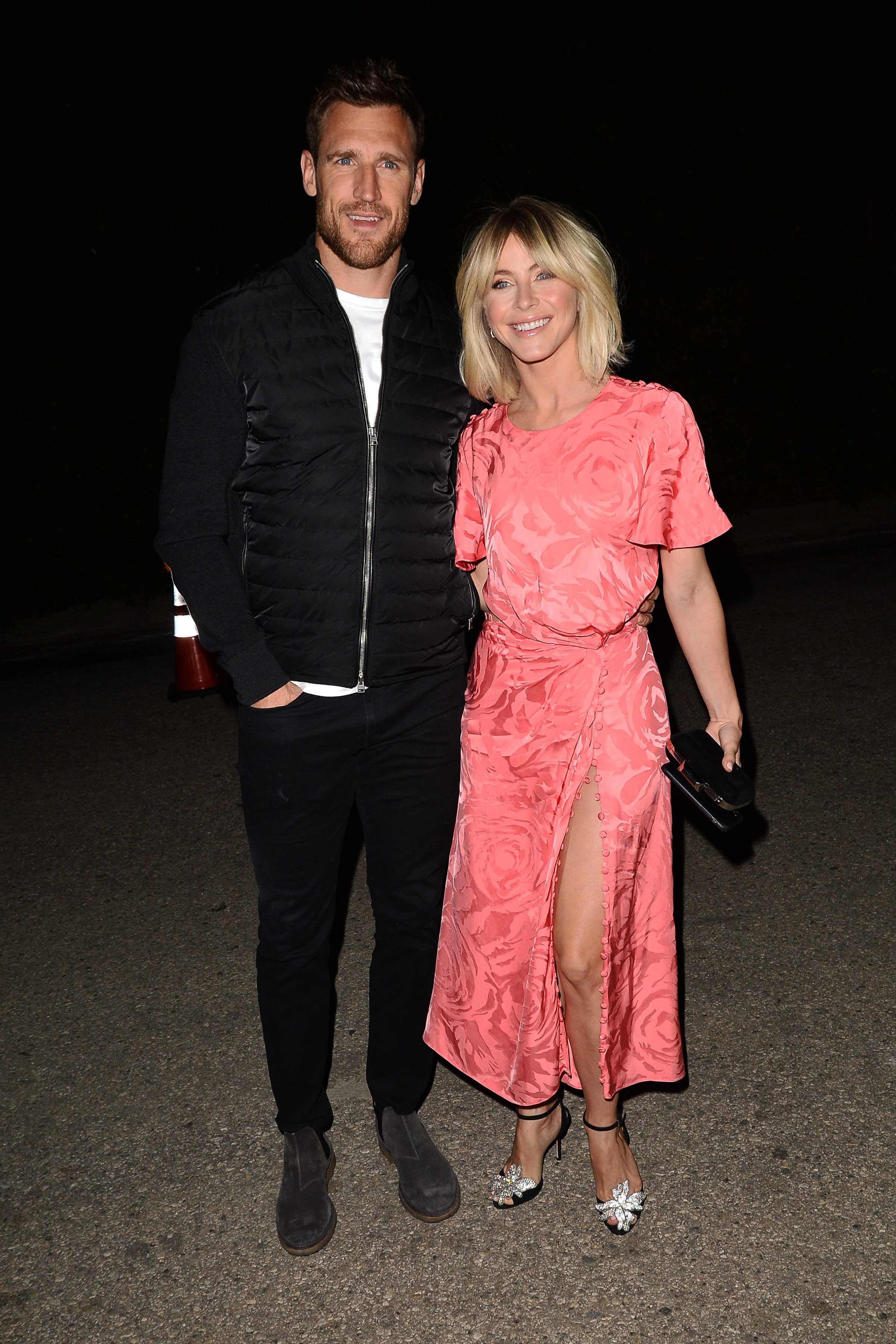 """Julianne Hough WME - The Dancing With the Stars judge made her way to the WME bash too. """"Dancing our way into Oscar weekend,"""" she captioned a video on Saturday, February 23, of herself having some fun with husband Brooks Laich ."""