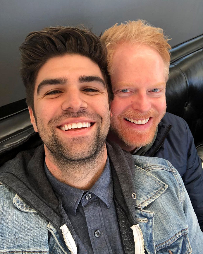 "Jesse Tyler Ferguson More Celebs Post Tributes to Their Loves on Valentine's Day - ""Happy Valentines Day to my favorite guy,"" the Modern Family actor wrote. Meanwhile, his beau added, ""My funny Valentine."""