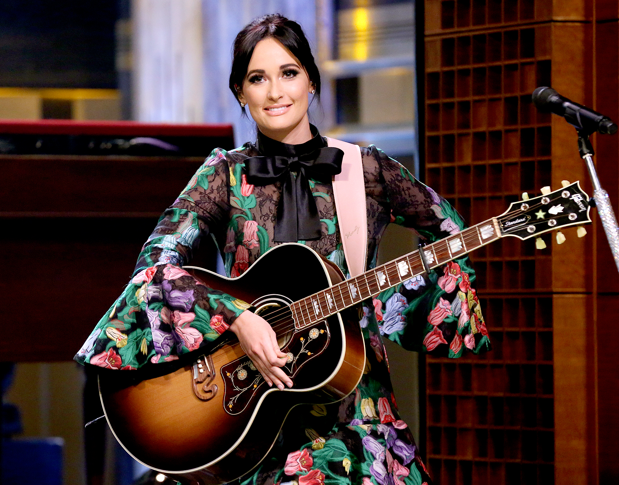 "Kacey-Musgraves-grammys-2019 - ""Wouldn't It Be Great?"" — Loretta Lynn ""Mona Lisas And Mad Hatters"" — Maren Morris ""Butterflies"" — Kacey Musgraves ""Millionaire"" — Chris Stapleton ""Parallel Line"" — Keith Urban"