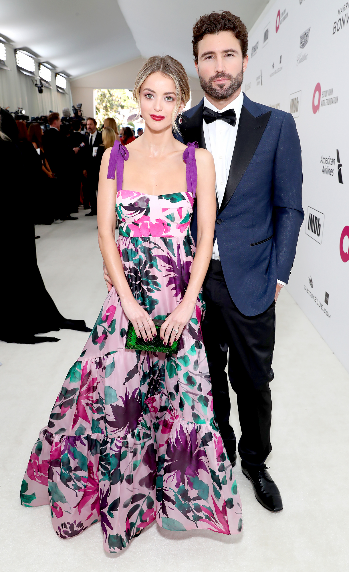 Kaitlynn-Carter-Jenner-and-Brody-Jenner - Kaitlynn Carter Jenner and Brody Jenner attend the 27th annual Elton John AIDS Foundation Academy Awards Viewing Party sponsored by IMDb and Neuro Drinks celebrating EJAF and the 91st Academy Awards on February 24, 2019 in West Hollywood, California.