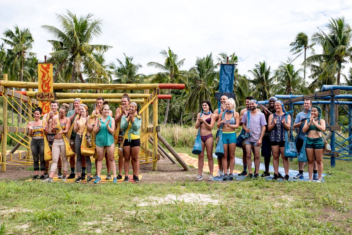 Jeff Probst Spills Secrets of 'Survivor: Edge of Extinction,' Predicts Who Will Win - The Kama and Mana Tribes on the premiere of 'SURVIVOR: Edge of Extinction'.