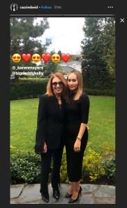 Mac Miller's Mom Karen Meyer Attends Grammy Awards 2019 With Pete Davidson's Ex-Girlfriend Cazzie David