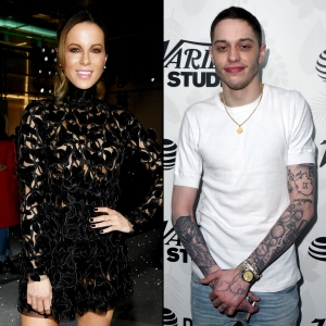 Kate Beckinsale Likes Pete Davidson He Makes Her Laugh