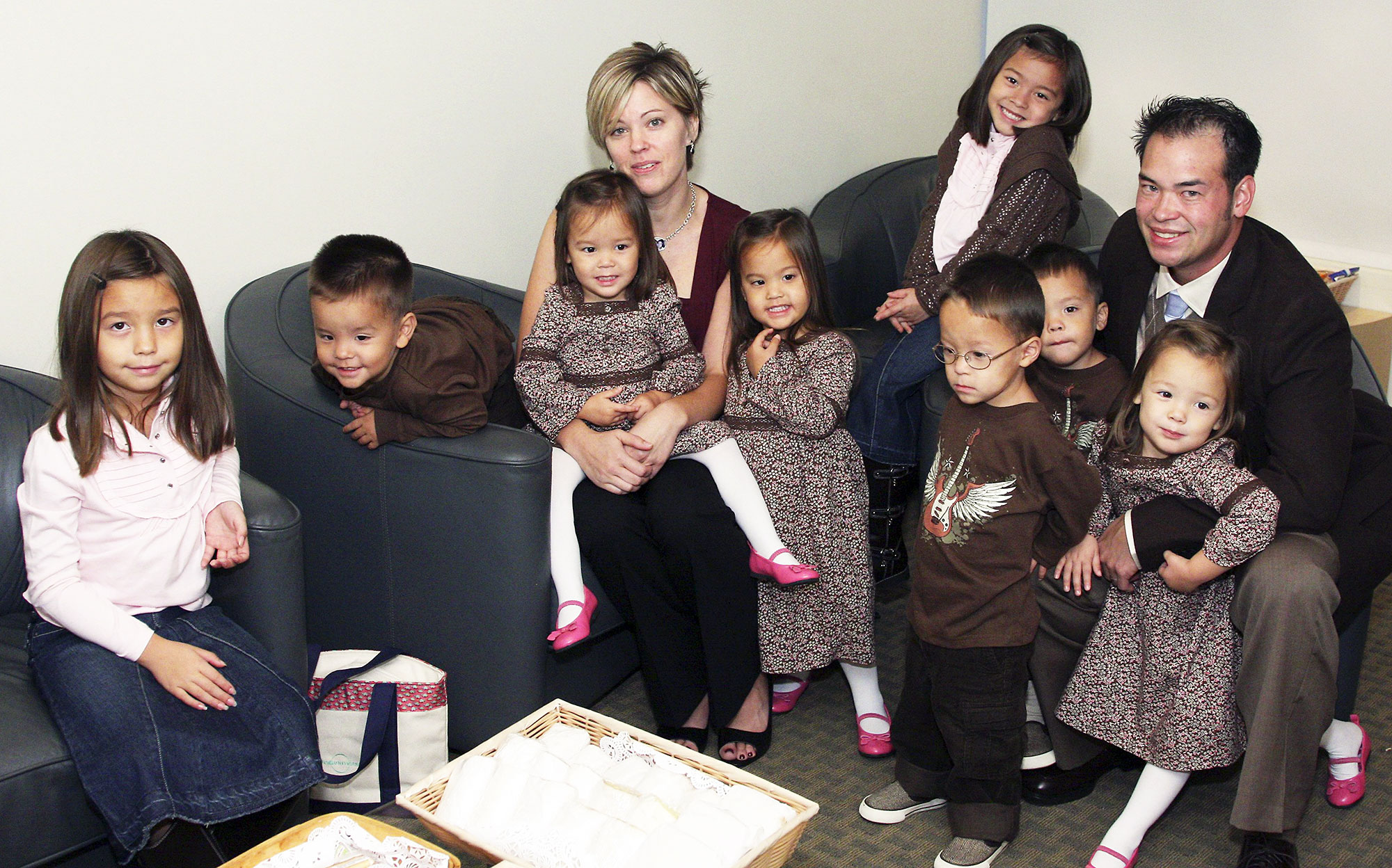 Kate Gosselin Defends Overzealous Protective Parenting - Kate Gosselin and John Gosselin talk about their twin daughters and sextuplets on NBC News' 'Today' on October 2, 2007.
