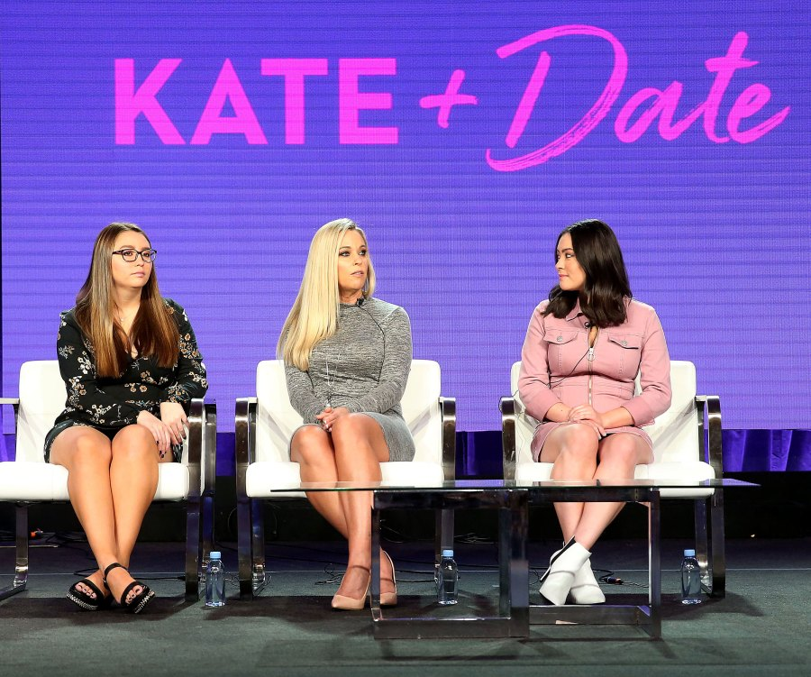 Kate Gosselin Makes Rare Appearance With Kids, Talks Dating Show