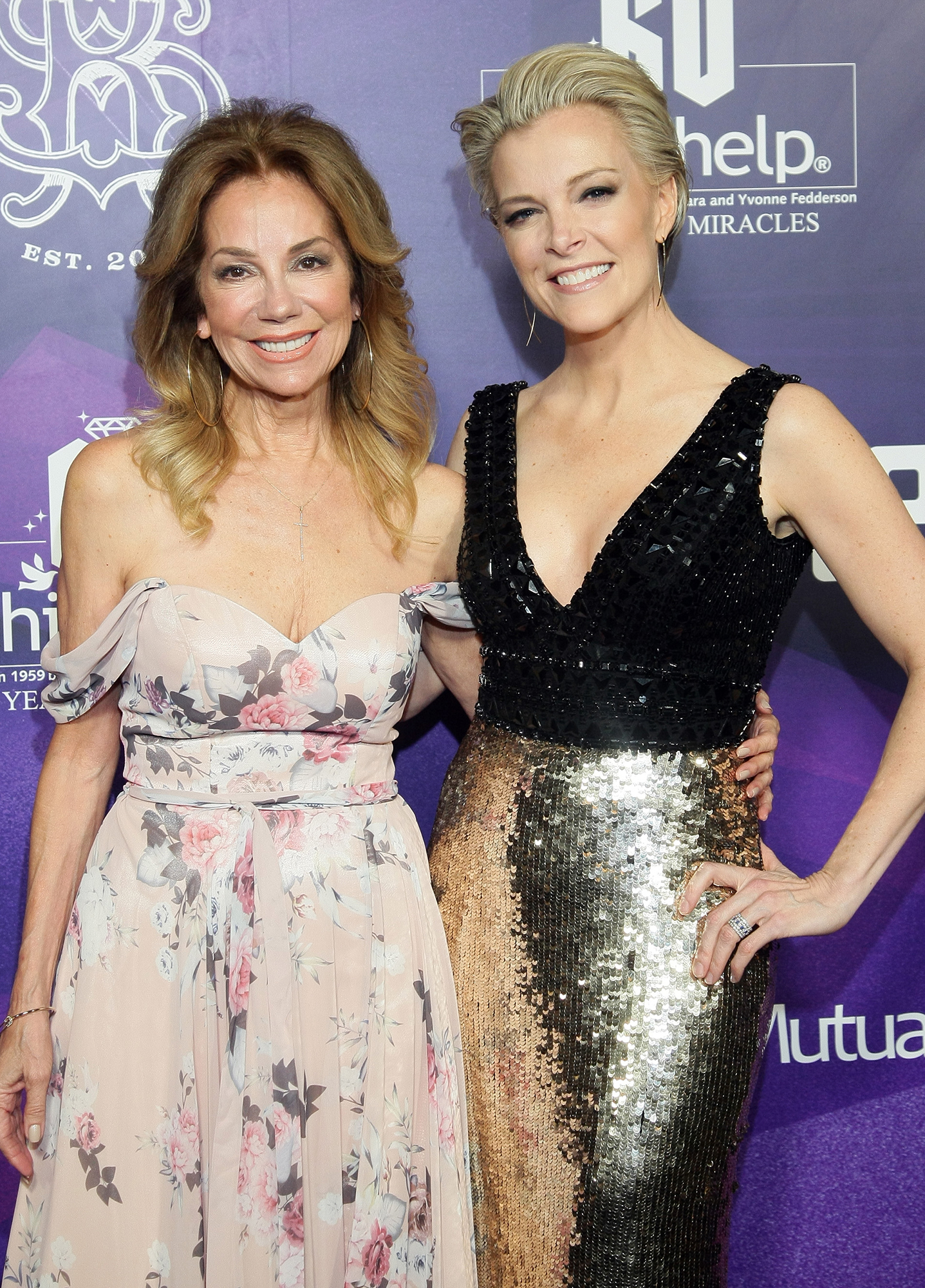 Kathie Lee Gifford and Megyn Kelly Reunite After Firing - Kathie Lee Gifford and Megyn Kelly pose for photos on the red carpet during the Childhelp's 15th annual Drive The Dream Gala at The Phoenician Resort on February 02, 2019 in Scottsdale, Arizona.
