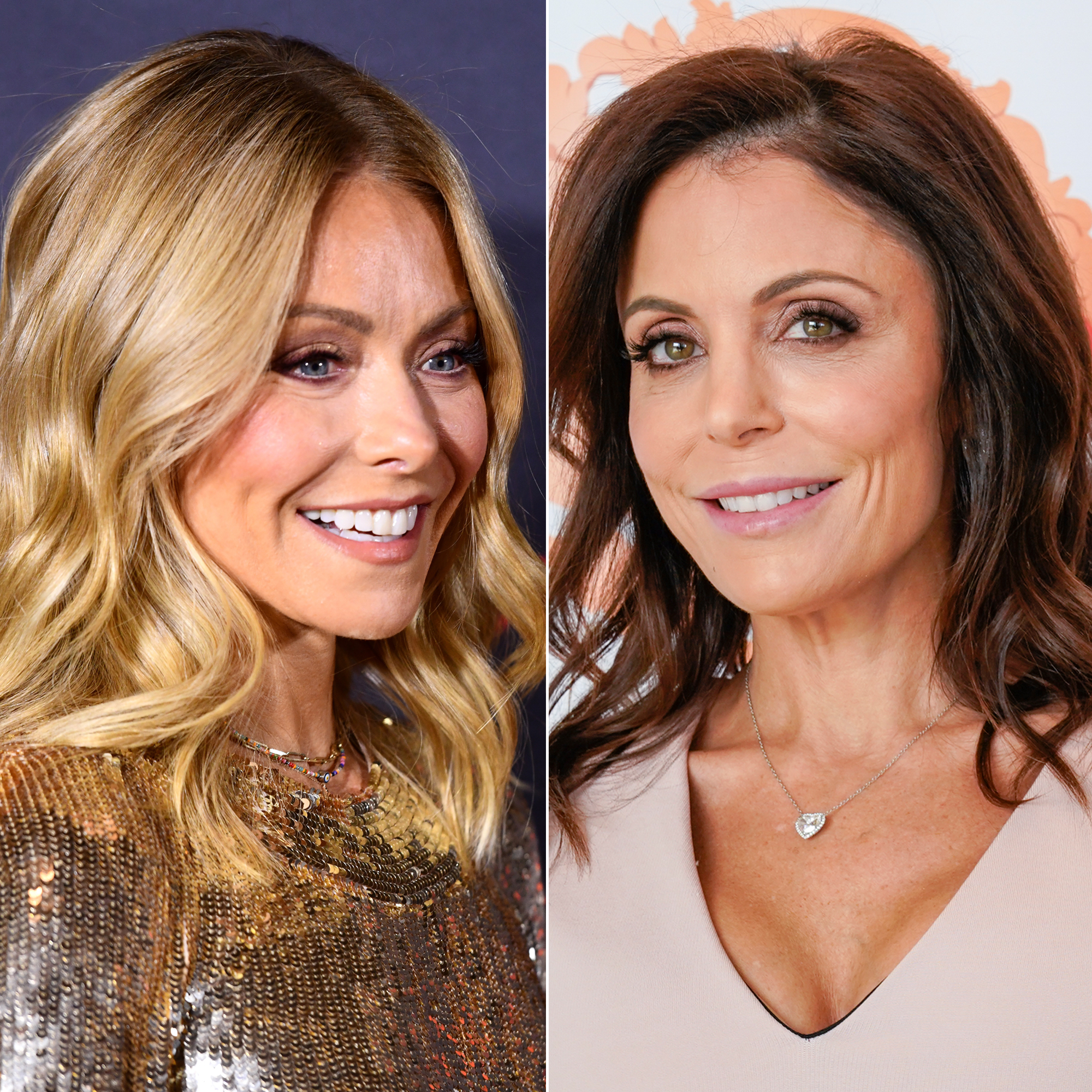 Kelly Ripa, Bethenny Frankel and More Share Their Super Bowl Sunday Eats - Kelly Ripa and Bethenny Frankel.