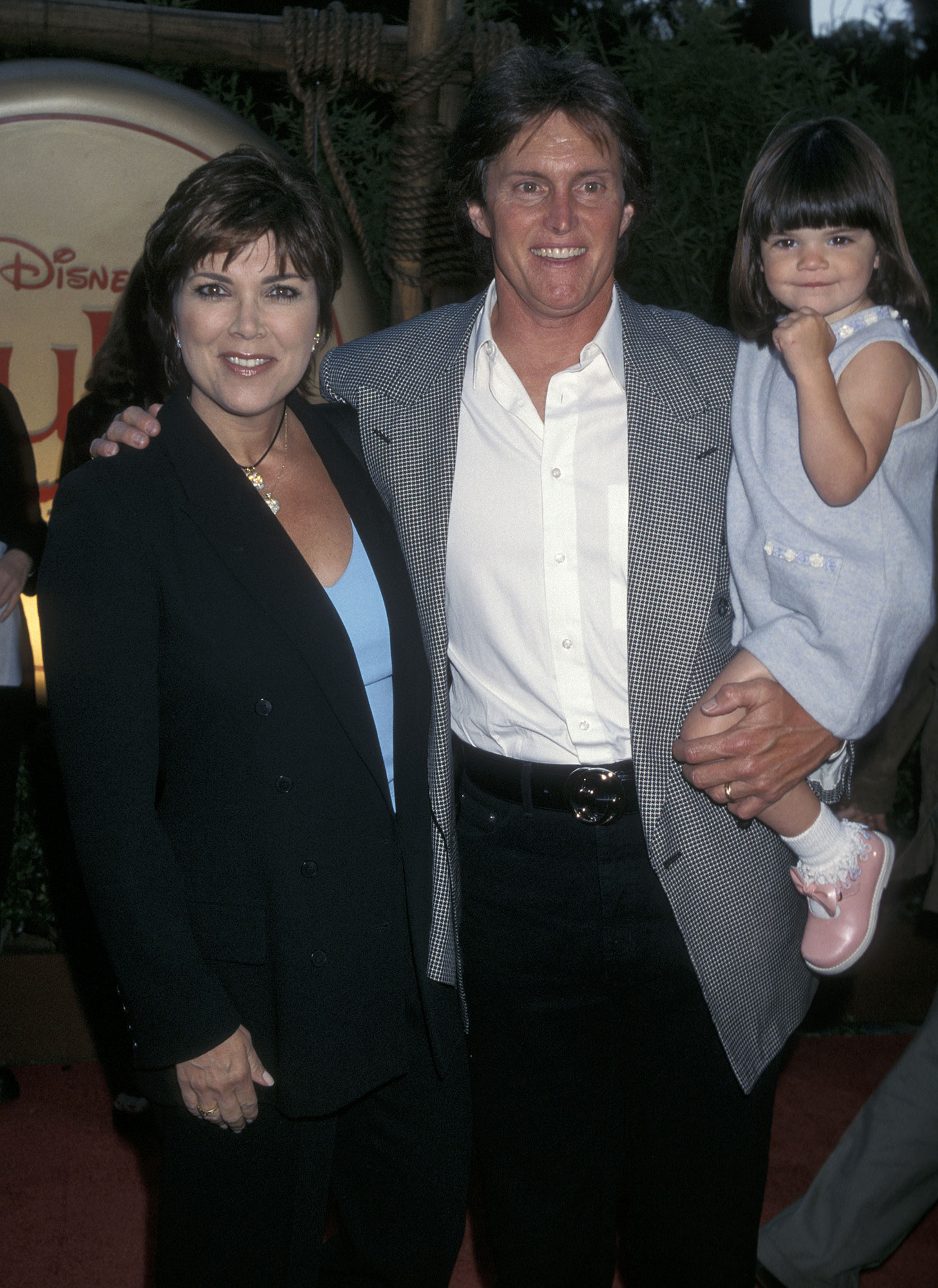 Kendall Jenner through the years - Kendall was just 2 years old when she and her parents, Kris and Caitlyn , attended the 1998 premiere of Disney's Mulan .