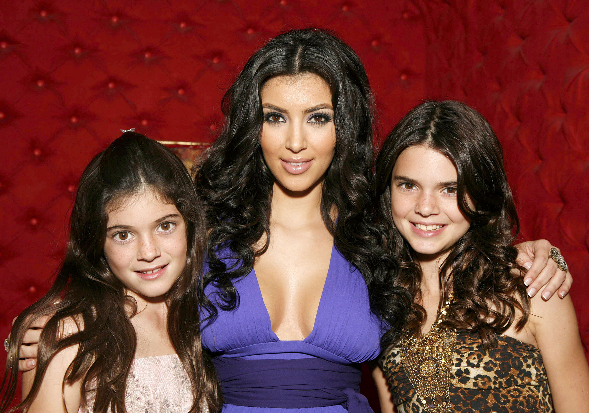 Kendall Jenner through the years - At 11 years old, Kendall likely had no idea how much her life was about to change as she joined Kylie and older sister Kim Kardashian at a 2007 viewing party for Keeping Up With the Kardashians .