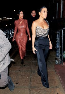 Kim Kardashian, Kourtney Kardashian and Lala Anthony