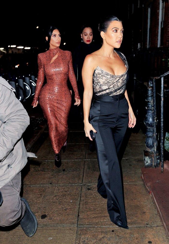 Kim Kardashian, Kourtney Kardashian and Lala Anthony