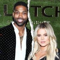 Tristan Thompson and Khloe Kardashian celebrity-splits-of-2019-biggest-celebrity-breakups-of-the-year