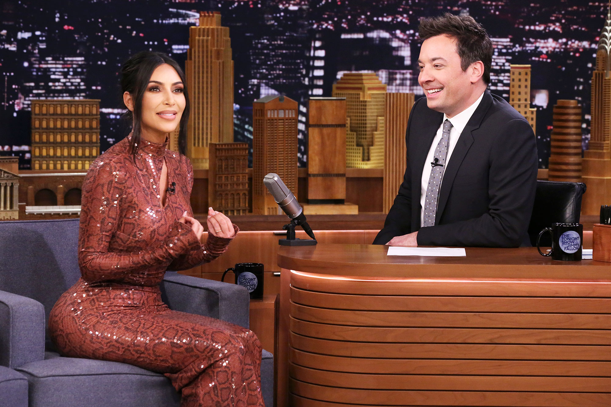 Kim Kardashian Stressed Baby Number Four The Tonight Show Starring Jimmy Fallon