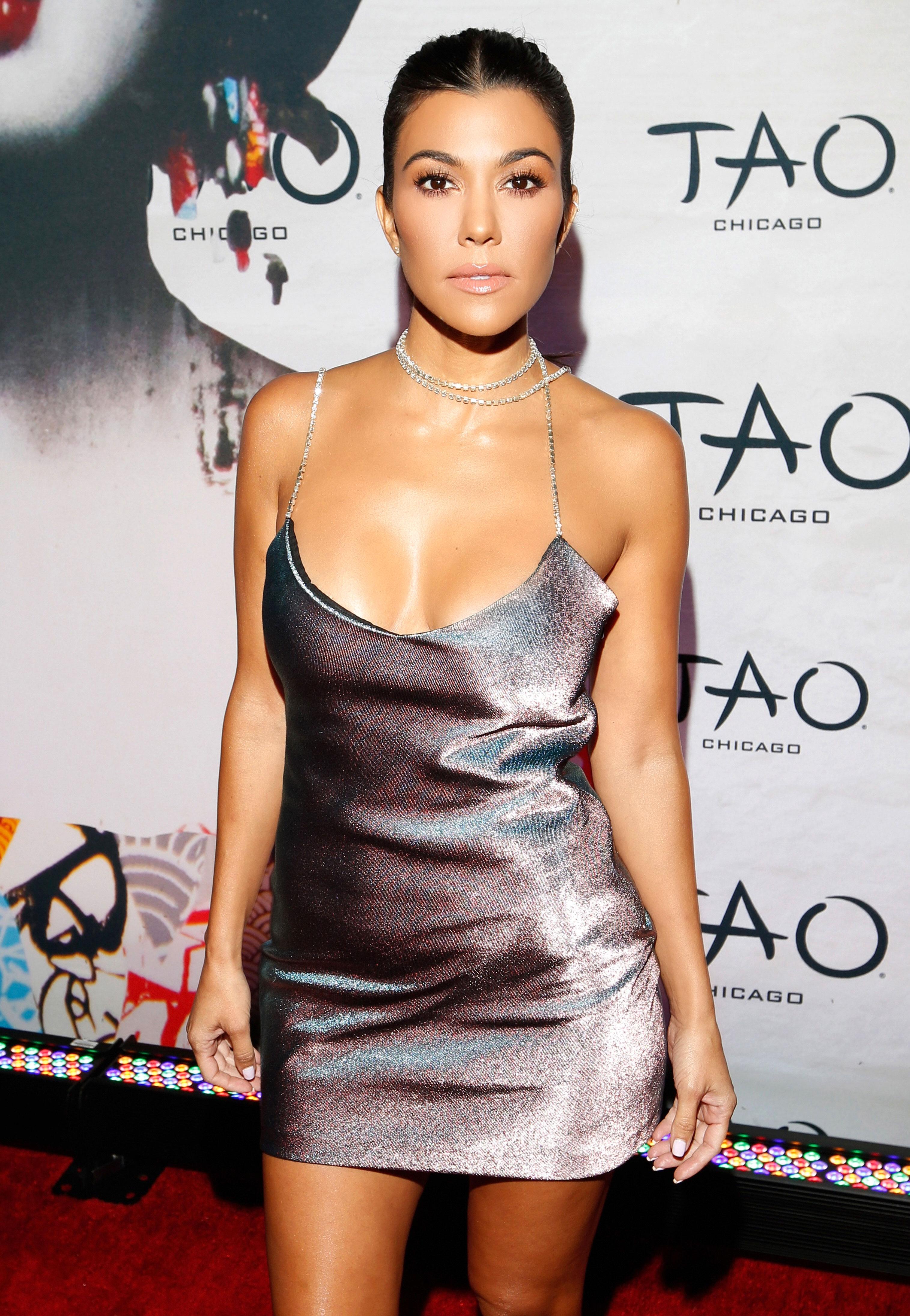 Kourtney Kardashian Bans Plastic Water Bottles in Her House: 'No More' - Kourtney Kardashian attends the TAO Chicago Grand Opening Celebration at TAO Chicago on September 15, 2018 in Chicago, Illinois.