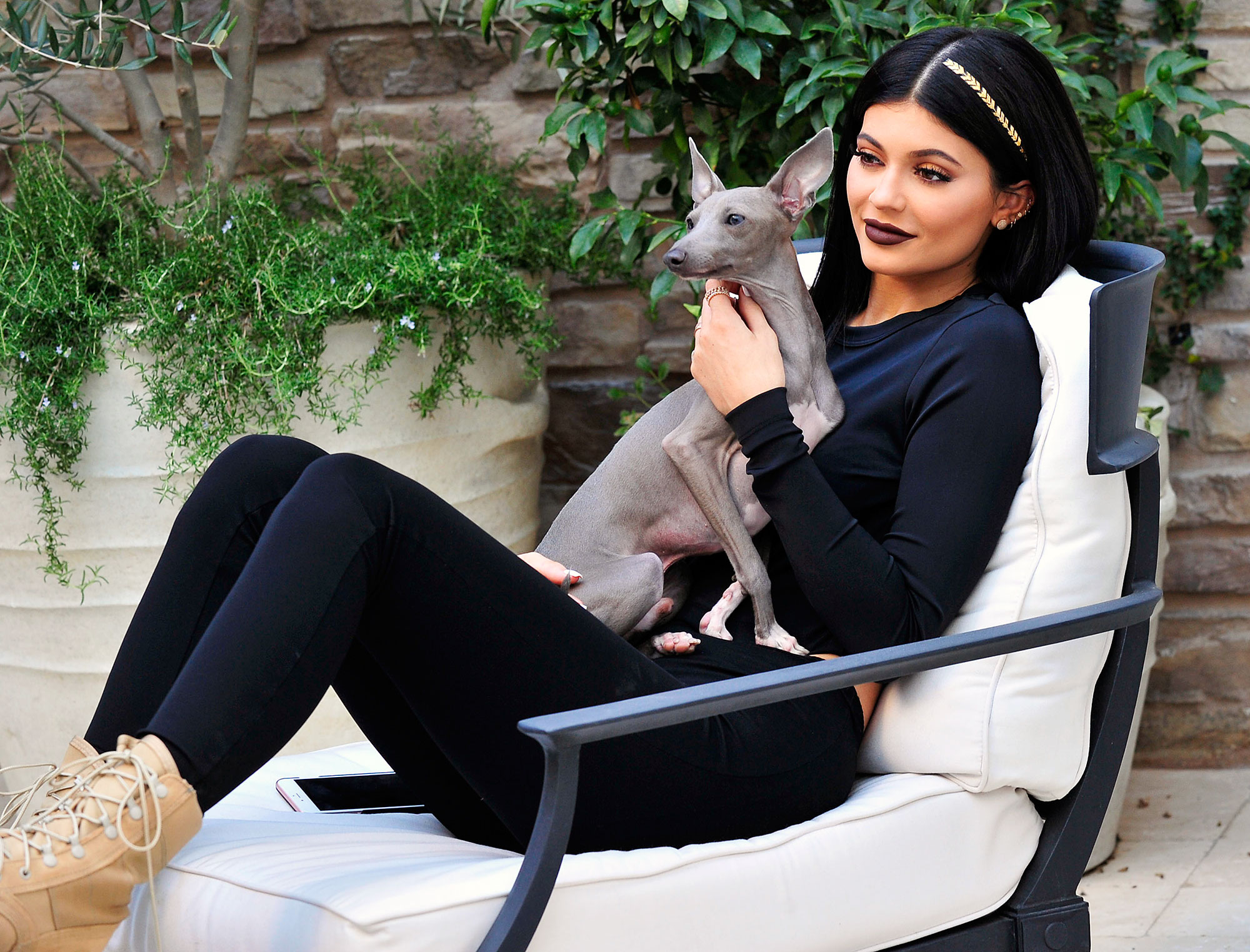Kylie Jenner Reveals What Happened Dog Norman