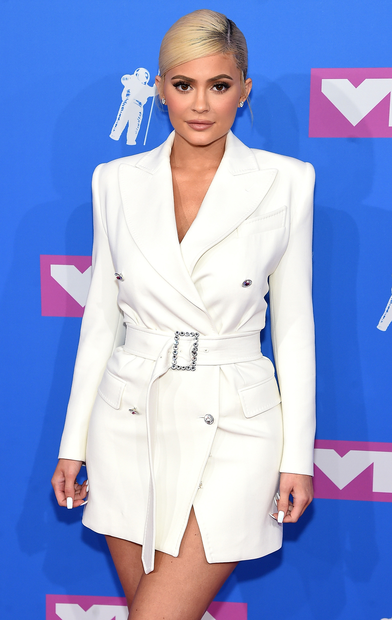 Kylie Jenner Stormi Birthday Presents - Kylie Jenner attends the 2018 MTV Video Music Awards at Radio City Music Hall on August 20, 2018 in New York City.