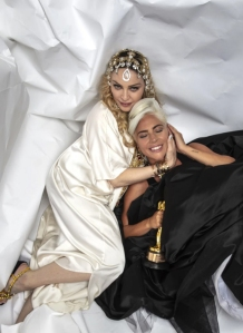 Lady Gaga Celebrates Her 2019 Oscar Win With Madonna After Feud