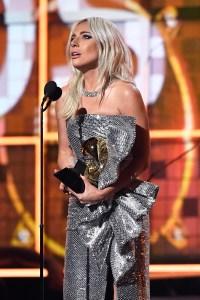 Lady Gaga Talks Mental Health, Thanks God, Bradley Cooper During Grammys 2019 Acceptance Speech