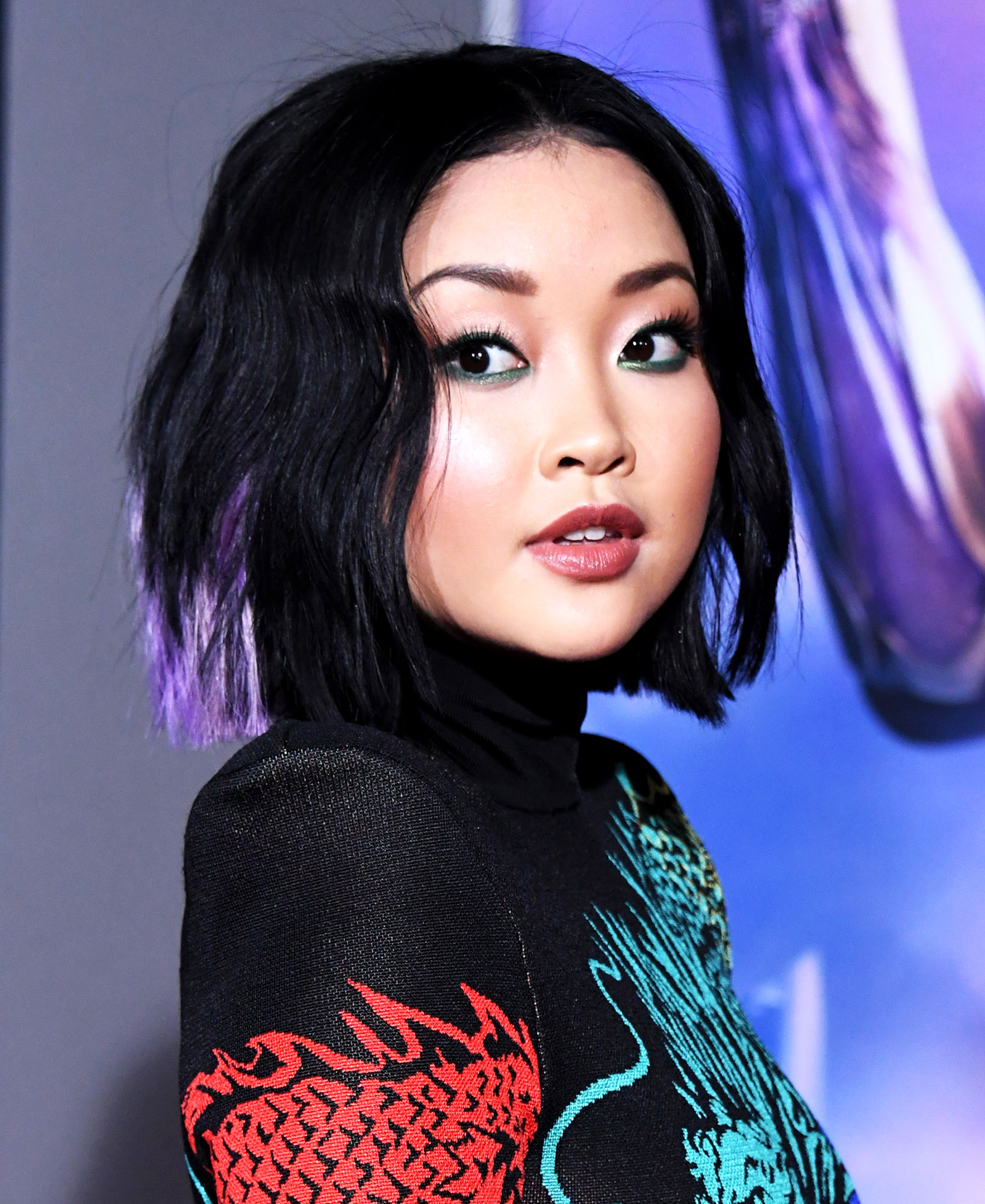 """Lana Condor - Lana Condor attends the premiere of 20th Century Fox's """"Alita: Battle Angel"""" at Westwood Regency Theater on February 05, 2019 in Los Angeles, California."""