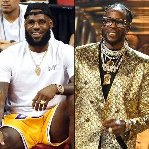 LeBron James and 2 Chainz Collaborating on New Rap Album