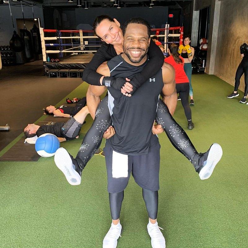 https://www.usmagazine.com/wp content/uploads/2019/02/Leyon Azubuike Jennifer Love Hewitt Best Celebrity Trainers In Hollywood Fitness