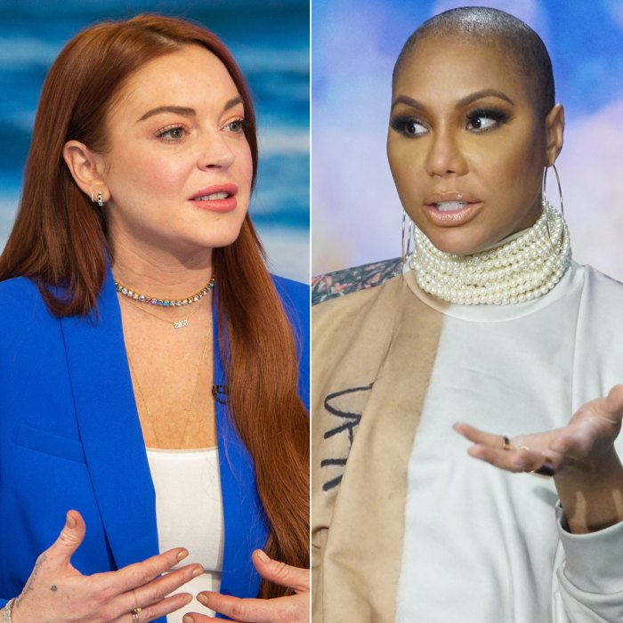 Lindsay Lohan Slams Tamar Braxton After 'Celebrity Big Brother' Finale: 'You're Deceptive and Conniving'