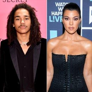 Luka Sabbat: Kourtney Kardashian and I Are 'Definitely Not Dating'