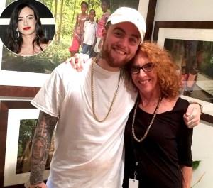 9378df38d8ccd Mac Miller s Mom Karen Meyer Attends Grammy Awards 2019 With Pete  Davidson s Ex-Girlfriend Cazzie