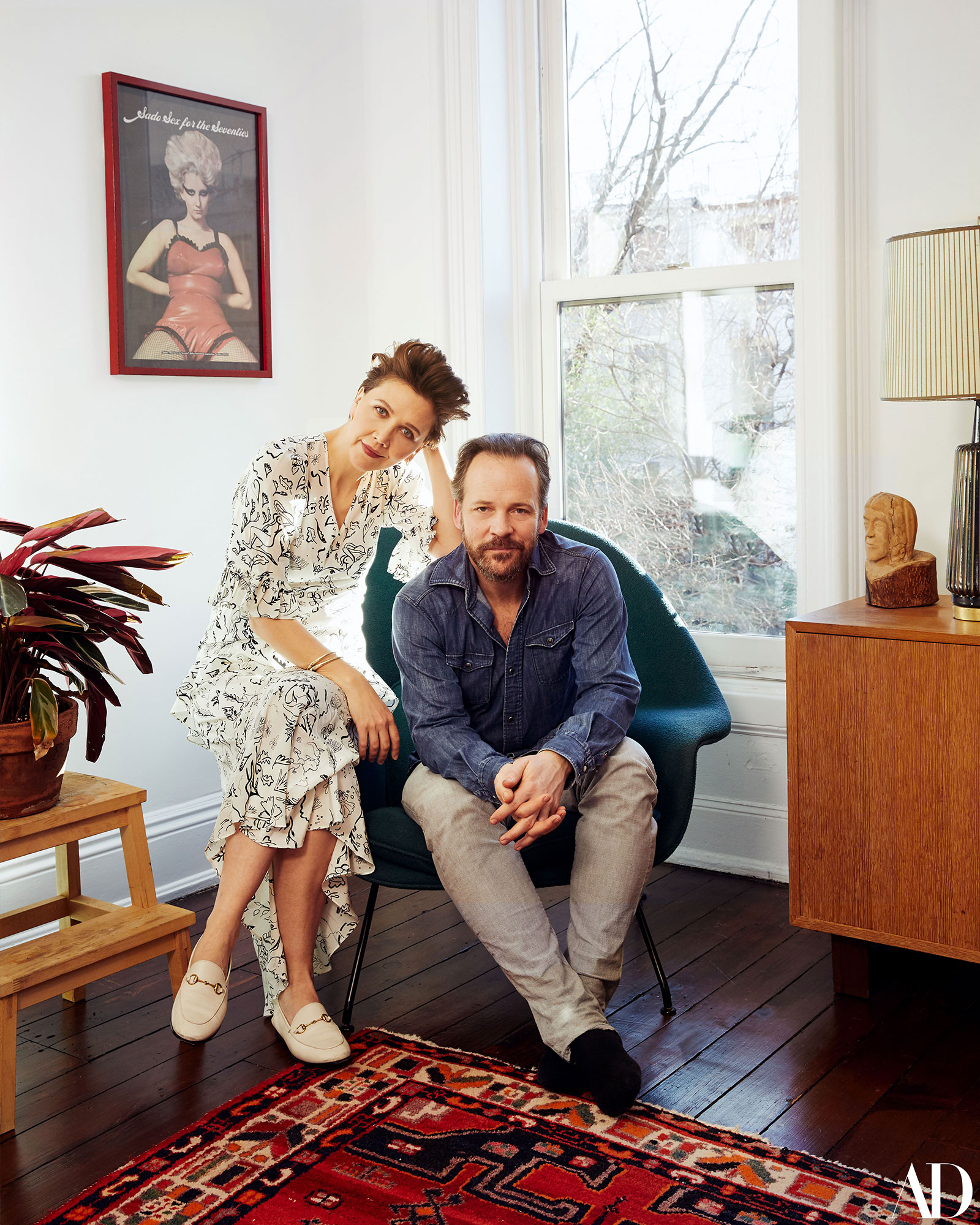 Maggie Gyllenhaal Shares Photos of Her Home - Maggie Gyllenhaal