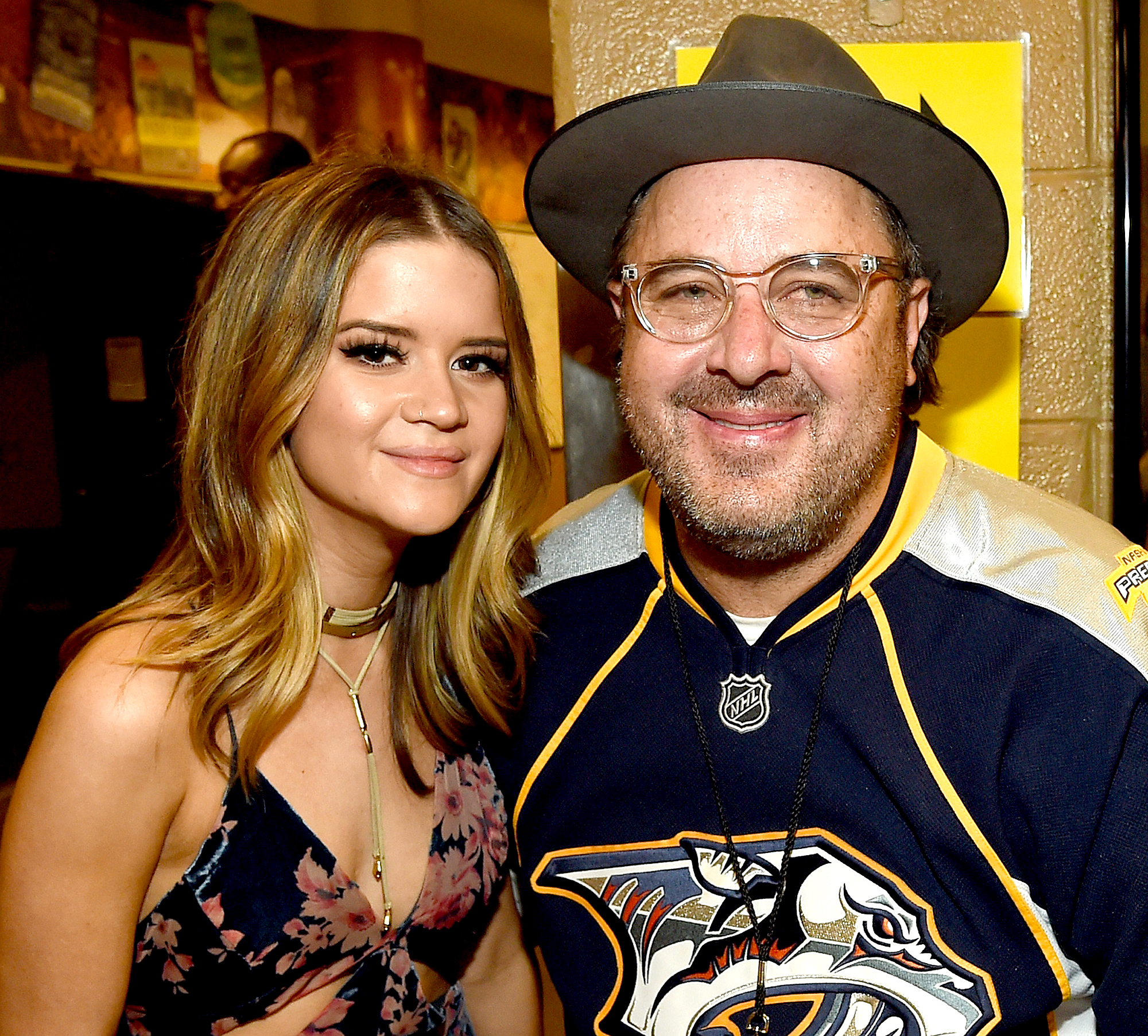 "Maren-Morris-and-Vince-Gill-grammys-2019 - ""Shoot Me Straight"" — Brothers Osborne ""Tequila"" — Dan + Shay ""When Someone Stops Loving You"" — Little Big Town ""Dear Hate"" — Maren Morris featuring Vince Gill ""Meant To Be"" — Bebe Rexha & Florida Georgia Line"