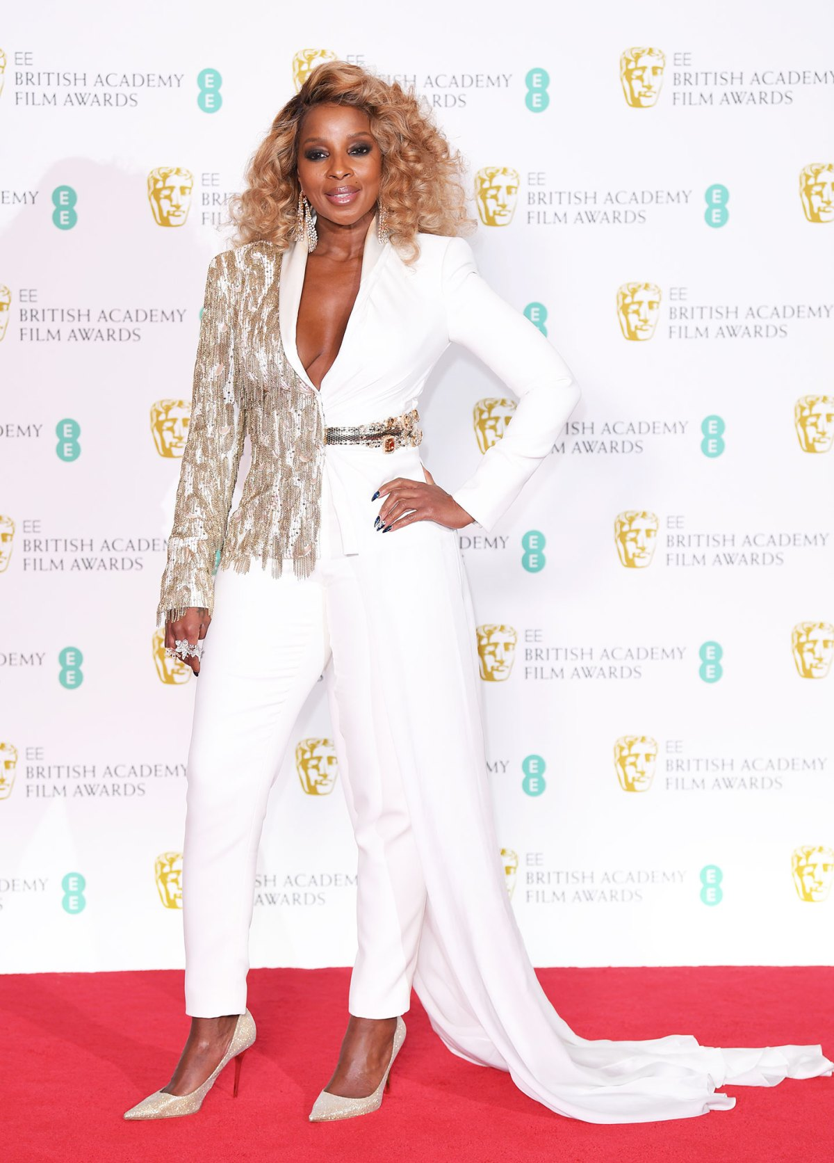 Baftas 2019 Red Carpet See Celebs Dresses Gowns