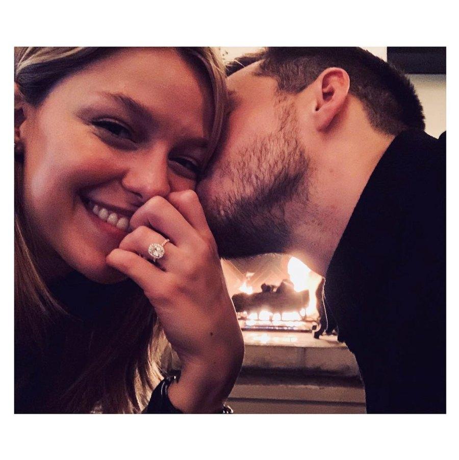 Melissa Benoist Chris Wood Engaged